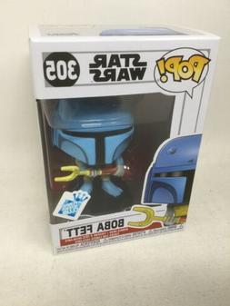 Funko Pop! Star Wars 305 Blue Boba Fett Funko Insider Club B