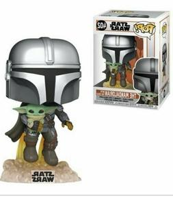 Funko Pop! Star Wars: The Mandalorian Flying Pop! Vinyl Figu