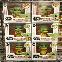 Funko Pop Star Wars The Mandalorian : The Child Baby Yoda Vi