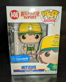 Funko POP! Stranger Things DUSTIN  Figure #804  SAME-DAY SHI