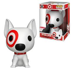 "Funko POP! Target: Pets - 10"" Bullseye  Figure 32 New IMPERF"