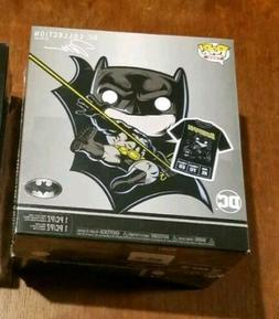 Funko Pop Tees Batman DC Collection Jim Lee Gamestop Hush Fi