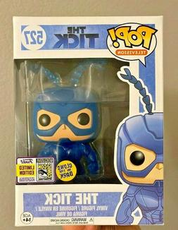 Funko Pop Television 2017 SDCC Glow in the Dark The Tick #52