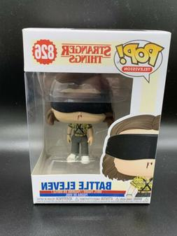FUNKO POP! TELEVISION: Stranger Things - Battle Eleven  Viny