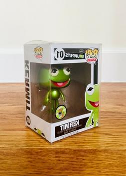 Funko Pop The Muppets Metallic Kermit the Frog Vinyl SDCC 20