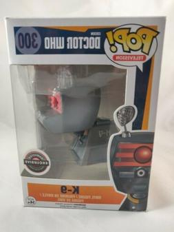 Funko Pop! TV Doctor Who K-9 GameStop Exclusive Vinyl Figure