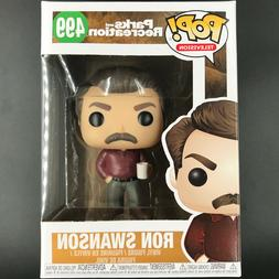 Funko Pop! TV: Parks and Recreation - Ron Swanson w/ Coffee