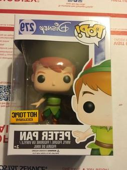 Funko POP VAULTED Flying Peter Pan Hot Topic Exclusive Vinyl