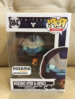 Funko POP! Vinyl Figure Games Destiny CAYDE-6 WITH CHICKEN #