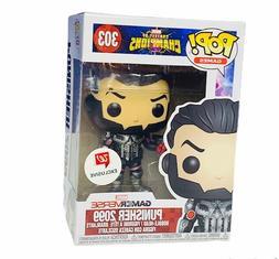 Funko Pop! vinyl figure pop box bobblehead 303 Punisher 2099