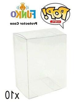Pop Vinyl Figure Protector Acrylic Case X10