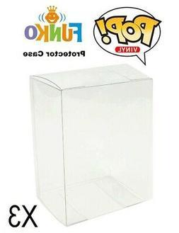 Pop Vinyl Figure Protector Acrylic Case X3