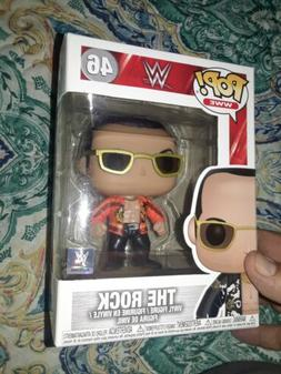FUNKO POP! WWE: WWE S6 - The Rock Old School  Vinyl Figure