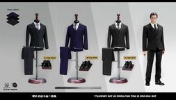 """POPTOYS 1/6 X27/X28 Clothes Suit F 12"""" Hottoys Coo Model Mal"""