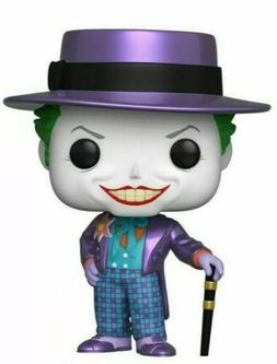 Preorder Funko Pop Batman 1989 The Joker Hat Metallic Gamest