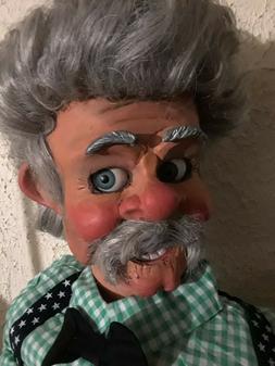 "pro style ventriloquist puppet figure dummy doll ""Pop's"""