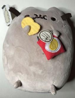 Gund Pusheen Potato Chip Snackable 9.5-Inch Stuffed Toy Plus