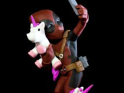 QMX Deadpool UNICORNSELFIE Q-FIG Q-Pop Figure NEW SEALED