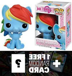 Rainbow Dash: Funko POP! x My Little Pony Vinyl Figure + 1 F