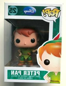 RARE Funko Pop! 2012 Disney PETER PAN #25 Series 3 Vaulted R