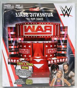 Raw Entrance Stage - Pop Up Mattel Toy Wrestling Action Figu