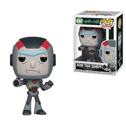 Funko Rick And Morty POP Purge Suit Rick Vinyl Figure NEW IN