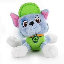 "Rocky 6"" Nickelodeon Paw Patrol Plush Stuffed Doll Puppy Dog"