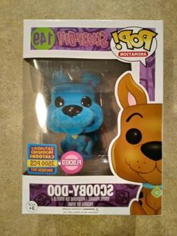 Scooby Doo Funko Pop Blue Flocked Figure SDCC 2017/ Saturday