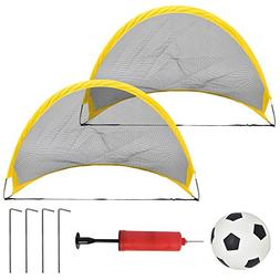 Mandy 2PC Set Mini Outdoor Folding Kids Children's Soccer Po