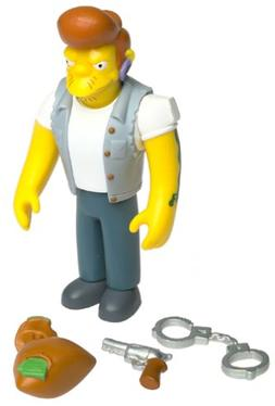 The Simpsons - 2001 - Playmates - Series 6 - Snake Action Fi