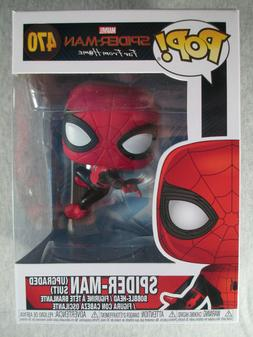 Spider-Man Upgraded Suit #470 - Funko POP! Bobble-Head Vinyl