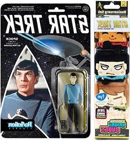 Star Trek Space Pack Funko Reaction: Spock Action Figure & P
