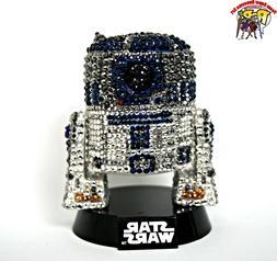 Funko Pop Star Wars R2-D2 Custom hand placed Crystals -Vinyl