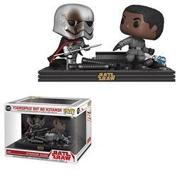 Star Wars: The Last Jedi Finn and Phasma Pop! Vinyl Figure M