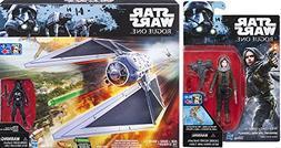 Star Wars Tie Striker Nerf Set Shooter Vehicle + Imperial Pi