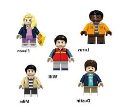 Stranger Things  Will Mike Eleven Lucas Dustin Building toy