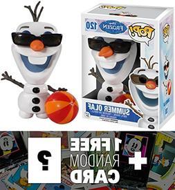 Summer Olaf: Funko POP! x Disney Frozen Vinyl Figure + 1 FRE