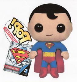 """Funko SUPERMAN POP 7"""" PLUSH FIGURE - NEW VERSION - Mint in B"""
