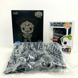 The Joker Target Exclusive DC Funko POP! Tees Black Chrome F