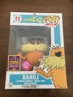 THE LORAX  Funko Pop Figure - Dr. Seuss - 2017 SDCC Exclusiv