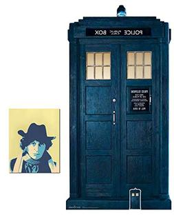 The Tardis from 13th Doctor Who 2/3 Life Size and Mini Cardb