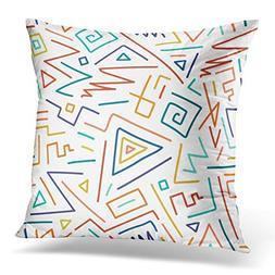 Golee Throw Pillow Cover Contemporary Colorful Children Styl
