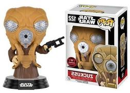 Toy Wars Exclusive Star Wars Bounty Hunter Zuckuss Pop! Viny