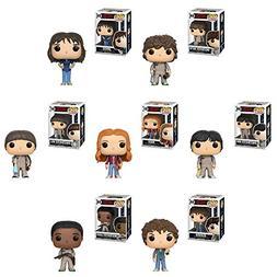 Pop! TV: Stranger Things Eleven, Joyce, Ghostbuster Dustin,