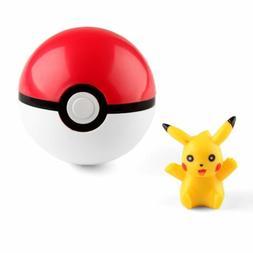 US Pokemon Pokeball Pop-up 7cm Plastic BALL Toy Action Figur