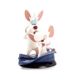 QMx Warner Brothers Animated Pinky & the Brain Q-Fig Figure,