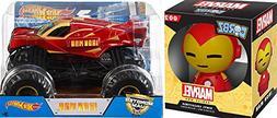 Hot Wheels Monster Jam Iron Man 1:24 2017 + Funko Dorbz: Mar