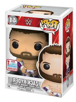 ZACK RYDER Funko Pop! #44 WWE 2017 Fall Convention EXCLUSIVE
